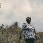 Aunty Gwen Williams | Photo Kate Holmes